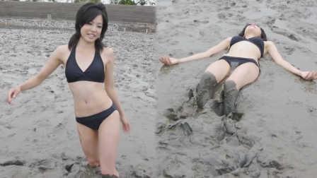 春色无边搞笑系列 2016 糊一脸 蠢妹子泥潭玩跳水