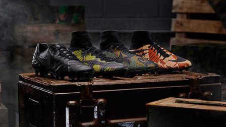 【新鞋速递】迷彩涂装下的耐克足球鞋欣赏:Nike Camo Pack