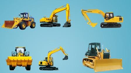 挖机动画-挖掘机视频表演挖掘机运输车工程车大全挖掘机工作表演挖掘机教学挖