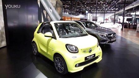 2016北京车展 个性小精灵smart巴博斯