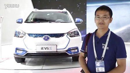 2016北京车展 高颜值SUV电动车江淮iEV6s