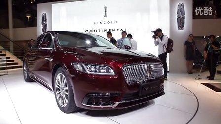 2016北京车展 全新美式林肯Continental