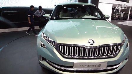 2016北京车展 斯柯达vision s首次亮相