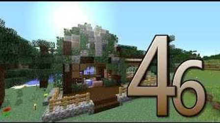 【我的世界Minecraft】原味生存Ep46 - 釣魚啦!!! 湖畔小別墅