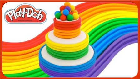 超美的彩虹千层蛋糕 157