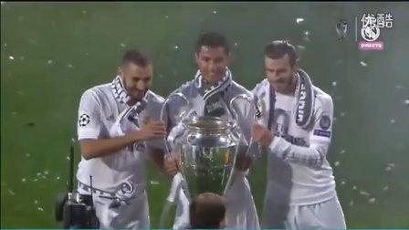 皇家马德里伯纳乌球场夺冠盛大庆典仪式(98分钟完整版)