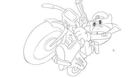 [小林简笔画]绘画儿童亲子动画片《黑猫警长》中黑