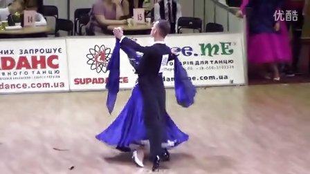 2016.6.12 乌克兰锦标赛成人摩登舞决赛