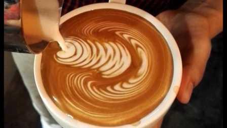 咖啡拉花 压纹 咖啡拉花基础