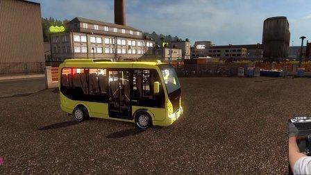 欧洲卡车模拟2_G27_H档(瞪羚详解M2010中巴睿翼方向盘改装图片