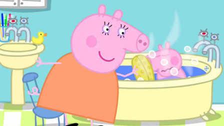 【炫彩简笔画】粉红小猪佩奇和妈妈猪儿童简笔
