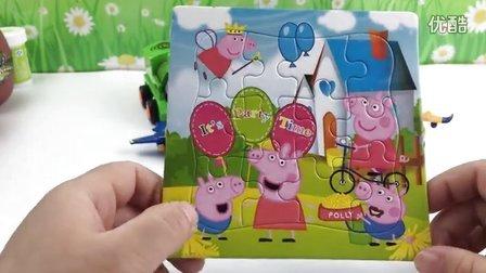 粉红猪小妹 小猪佩奇 佩佩猪 智力拼图 早
