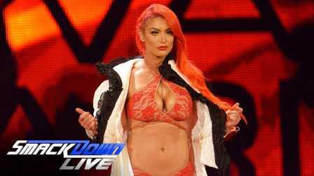 WWE擂台秒变泳装秀