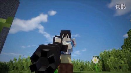 我的世界残酷战争MineZ生存 6 万里长城视频