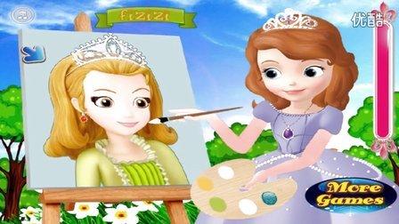 索菲亚画画 小公主苏菲亚 星学院II月灵手环 螺丝钉 猫和老鼠 彩色童话