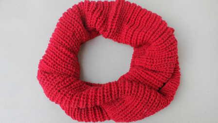 围脖(第二集)围巾的织法