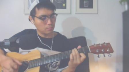 吉他弹唱《刚刚好》薛之谦[大铭铭爱吉他]