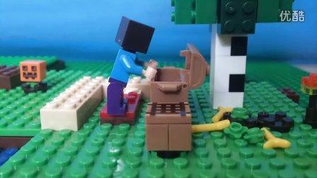 乐高我的世界定格动画之史蒂夫欢乐生存 4视频图片
