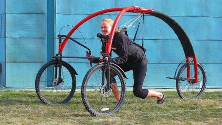 世界上5种最惊人的奇葩自行车