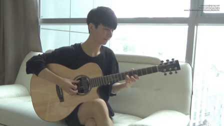 【郑成河】指弹天才Sungha Jung吉他独奏(Ailee) If You