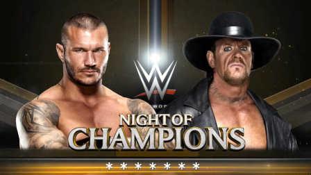 WWE太激烈了!兰迪奥顿vs送葬者、双方用尽看家本领都难取胜(2016年9月16日期)
