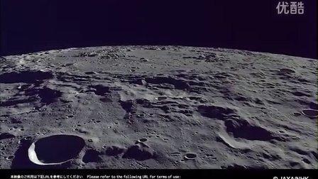 令人惊叹的高分辨率表面月球镜头