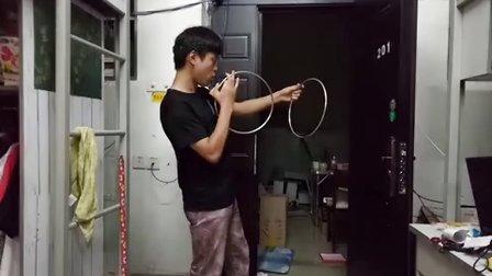 魔术教学:二连环新玩法