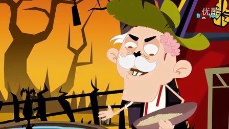 万圣节 Halloween - Old Mac Donald has a farm - Zombie style 僵尸风格