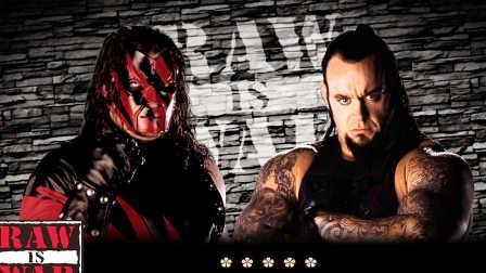 WWE地狱牢笼赛!毁灭兄弟之战:红魔凯恩vs死神送葬者-WWE2K16实战对决第69期(2016年10月27日期)