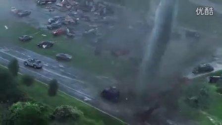 《家乡二人台》龙卷风实拍