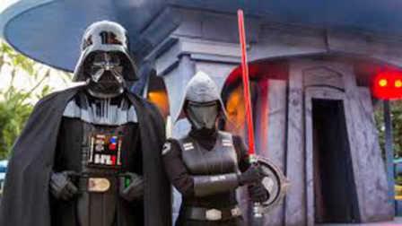 迪士尼乐园星球大战绝地武士训练原力觉醒