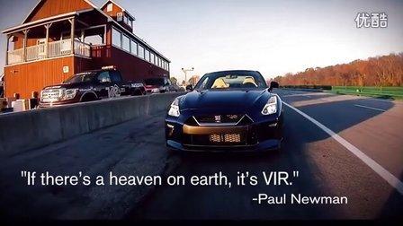 第一视角带你看日产GT-R跑赛道