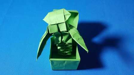 折纸王子大全 复杂折纸 教你折纸杰克盒子(一)