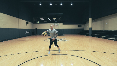NBA前体能训练师James教你后撤步投篮
