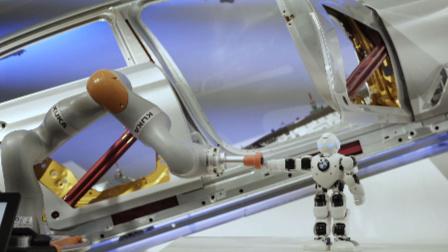 宝马大东新工厂惊现智能机器人