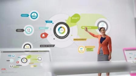 在未来, 学校和医院里的设备也会更加智能化!