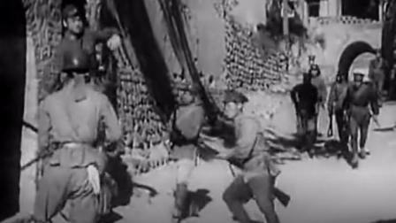 精选: 一部50年代的老电影故事片战斗片