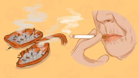 小心你的皮肤、骨骼和心肺, 抽烟让你老得比谁都快!