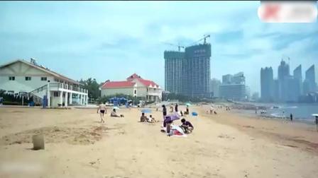 俄罗斯妹子来青岛上海旅游, 改变了以前对中国印象