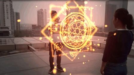 《奇异博士》的魔法阵特效, 用AE的from来实现的