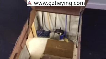 外国人都流行在地下室装气弹簧支撑杆! 安装气弹簧支撑架详解视频