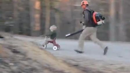 妈妈不在家,爸爸就是这样带孩子的。。。