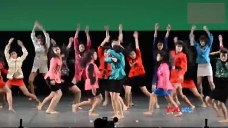 这帮妹子太燃了!!岛国高中舞蹈社锦标赛里最受欢迎的80年代风dance