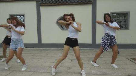 爵士舞《wiggle wiggle》舞蹈mv 美女热舞视频
