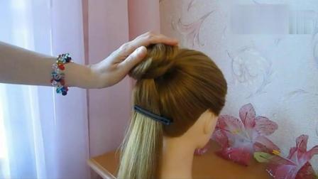 优雅淑女发型编发教程, 简单好看有气质