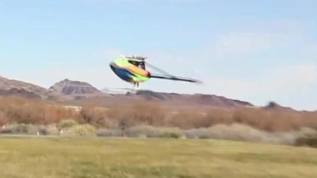 【牛顿棺材板压不住了】亚拓直升机3D花式特技飞行