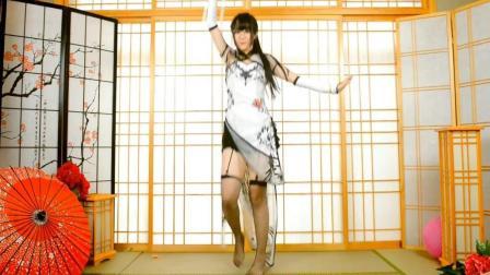 动漫宅舞比赛美女热舞, 现场版