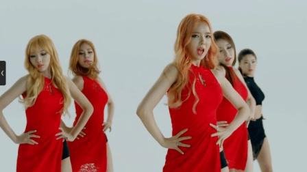 韩国漂亮美女热舞Stellar - Vibrato-MV版音乐舞曲, 非