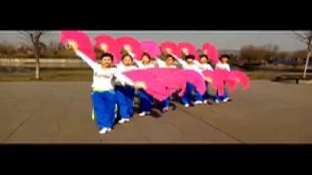 广场舞视频大全双人舞吉祥中国年扇子舞欣赏
