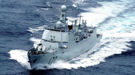 中国5艘神盾舰集体现身, 比肩美国, 各国羡慕不已
